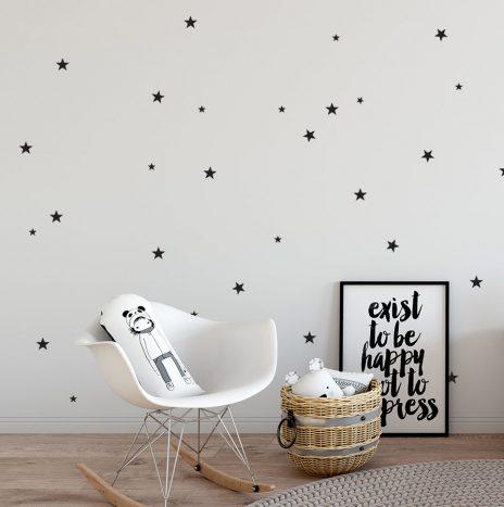 מדבקת קיר Stars