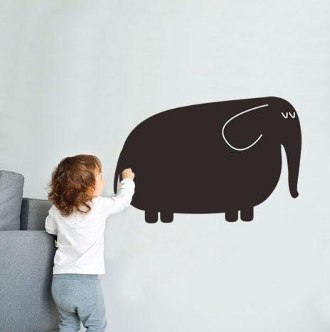 מדבקת לוח גיר Elephant