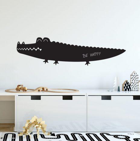 מדבקת לוח גיר Crocodile