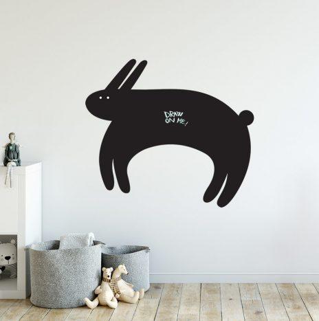 מדבקת לוח גיר Rabbit