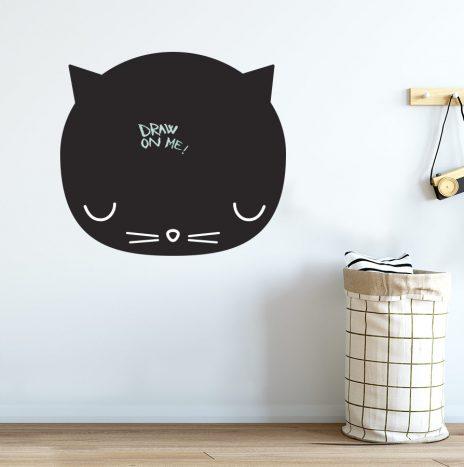 מדבקת לוח גיר Cat