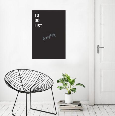 מדבקת לוח גיר To do list