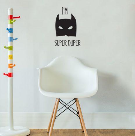 מדבקת קיר  Super Duper