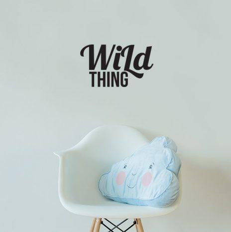 מדבקת קיר  Wild Thing