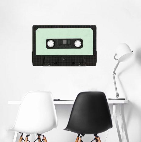 מדבקת קיר Retro Cassette