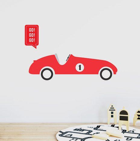 מדבקת קיר Car