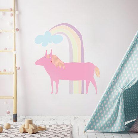 מדבקת קיר Horse