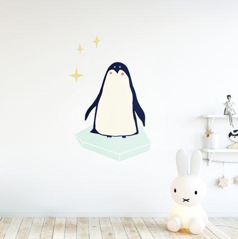 מדבקת קיר Pinguin