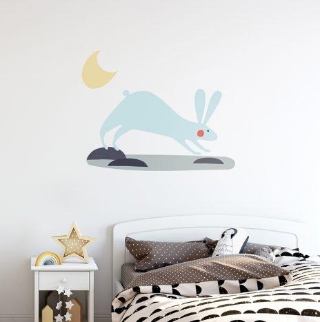 מדבקת קיר Bunny